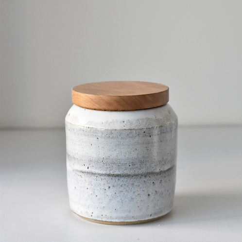 Medium lidded jar