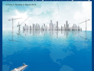 Публикация в журнале «Journal of Shipping and Ocean Engineering»