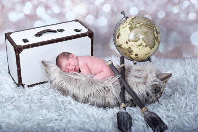 Newborn Baby of Yana
