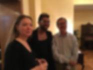 Leah Souffrant, Dennis Norris II, Sam Perkins at BLOOM 9.23.18