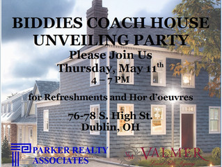 UNVEILING PARTY -Biddies Coach House