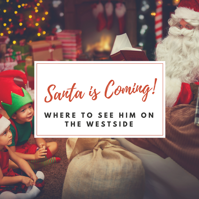 Where to see Santa on the Westside