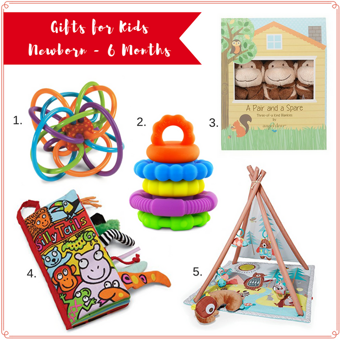 Holiday Gift Guide for Babies & Kids