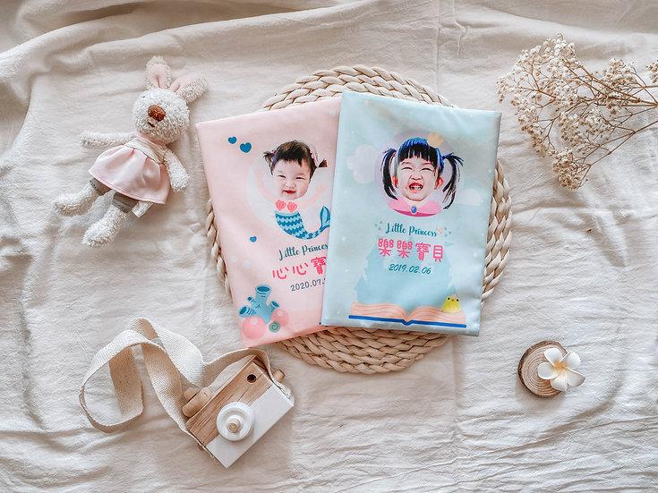 客製禮物 客製化寶寶手冊書套/布套