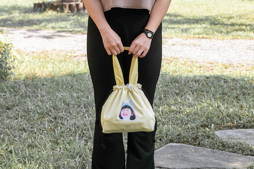 客製禮物|客製手提防潑水便當袋