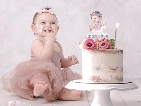 週歲蛋糕插卡 | 客製寶寶商品