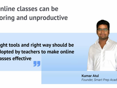 How teachers can conduct Online classes effectively?