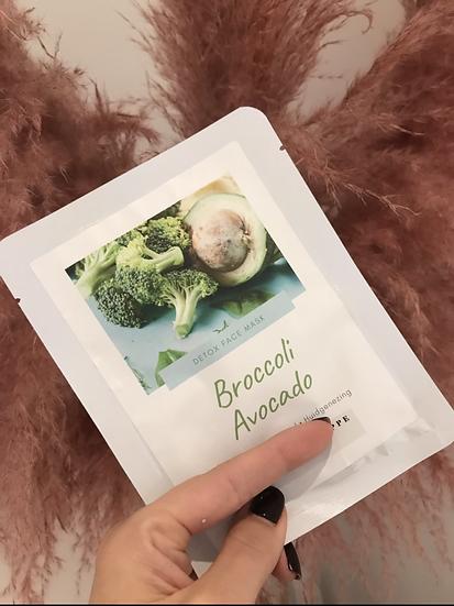 Sheetmask Broccoli 🥦 &  avocado 🥑