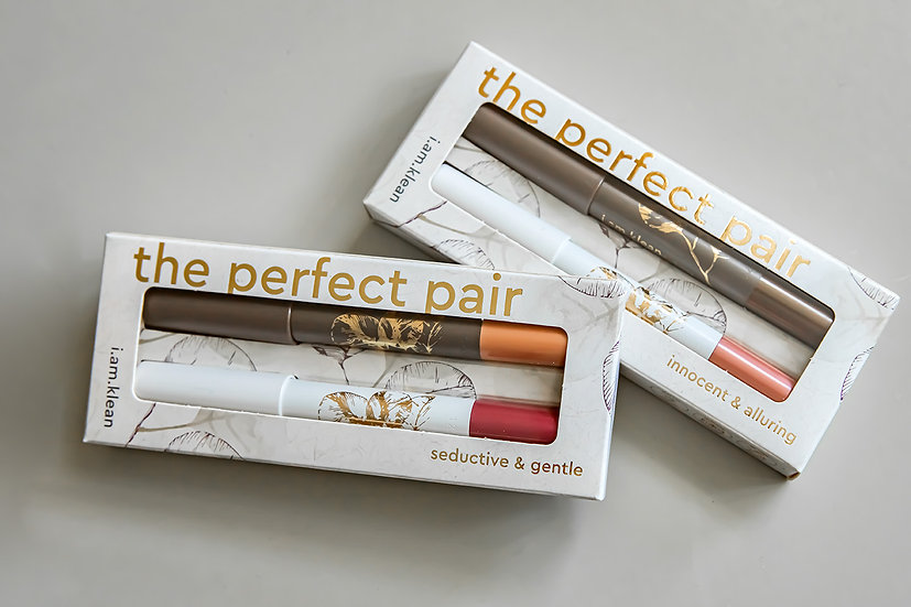 i.am.klean - The perfect pair duo oog- en lippotlood