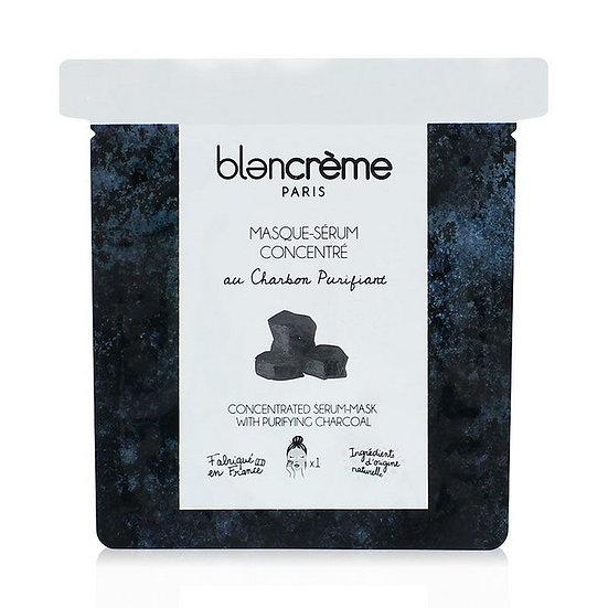 Blancrème - Sheet mask met zuiverende Houtskool!