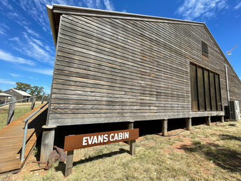 The Evans Cabin