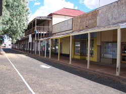 Main street of Trundle