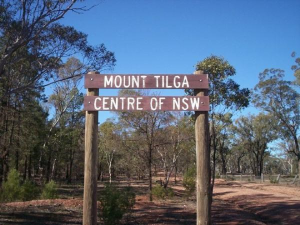 Mount Tilga: The centre of NSW