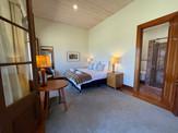 Evans back bedroom set as king bed