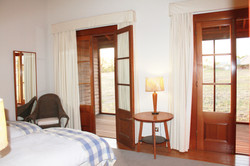 The Oxley Cabin twin room