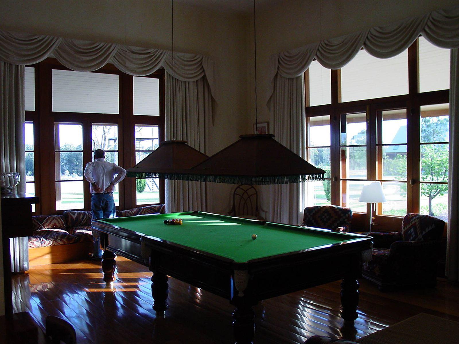 Billiards at the Homestead