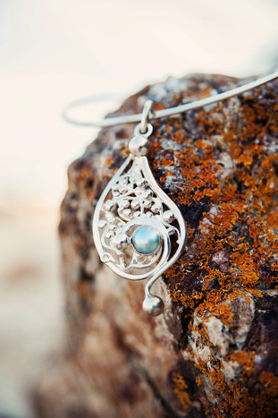 Blue Note Necklace