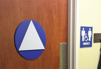 Gender Neutral Restroom Signage