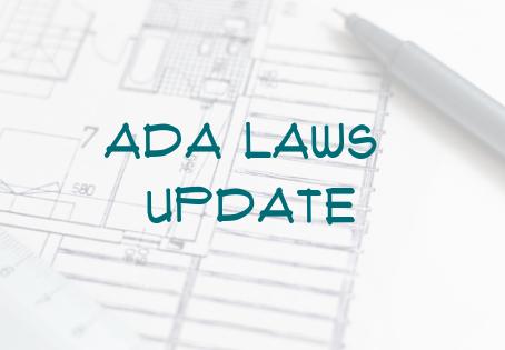 ADA Laws Update