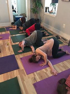 Mount Pleasant yoga class