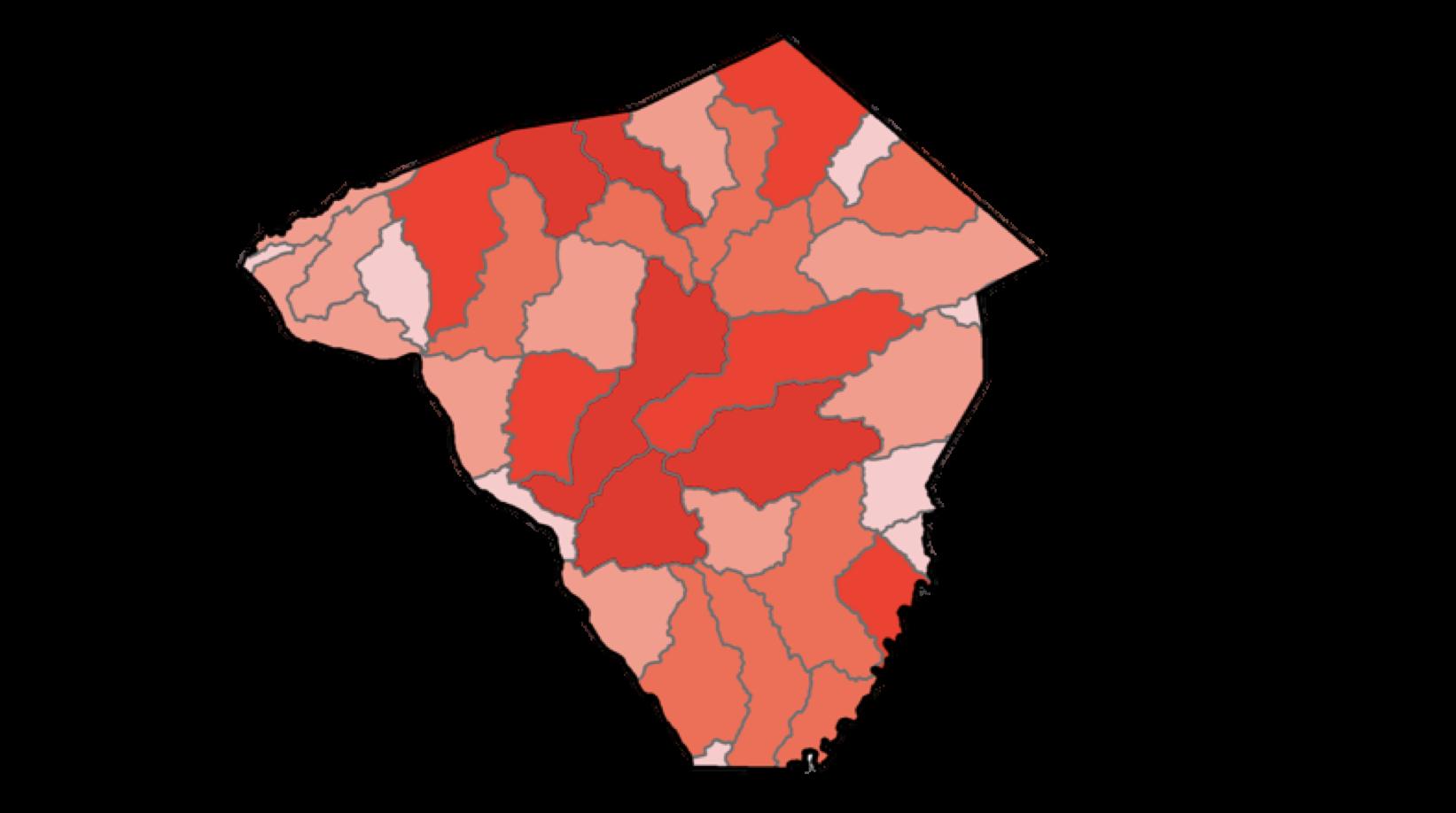 Lancaster Hot Spot Map