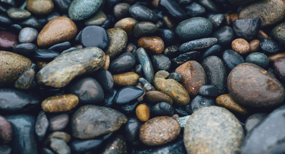 rocks calm relaxation multiple colors smooth