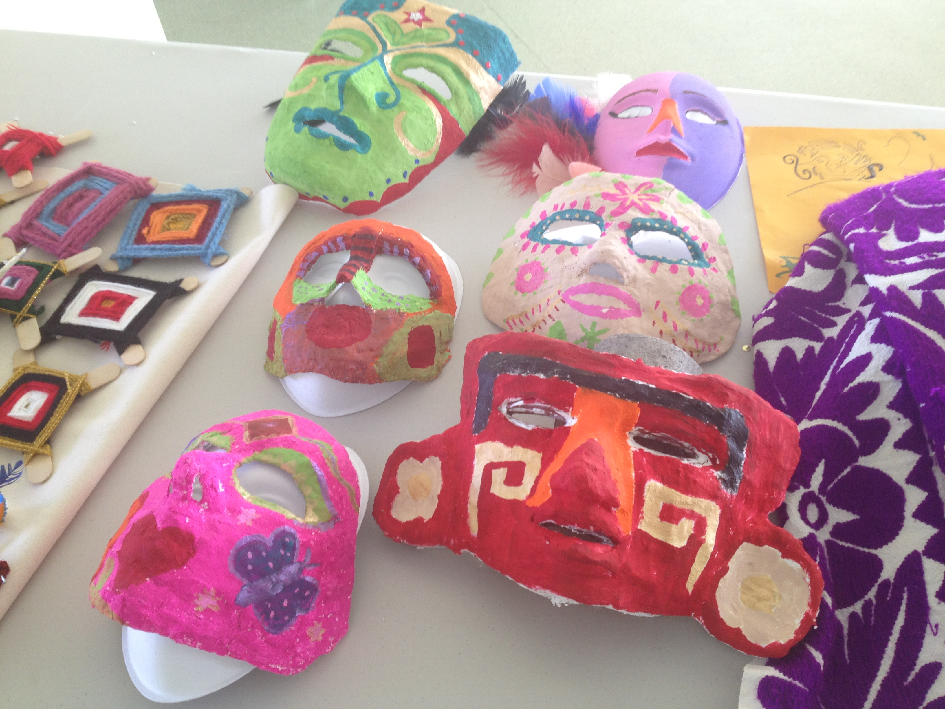 Mask making and cultural arts&crafts