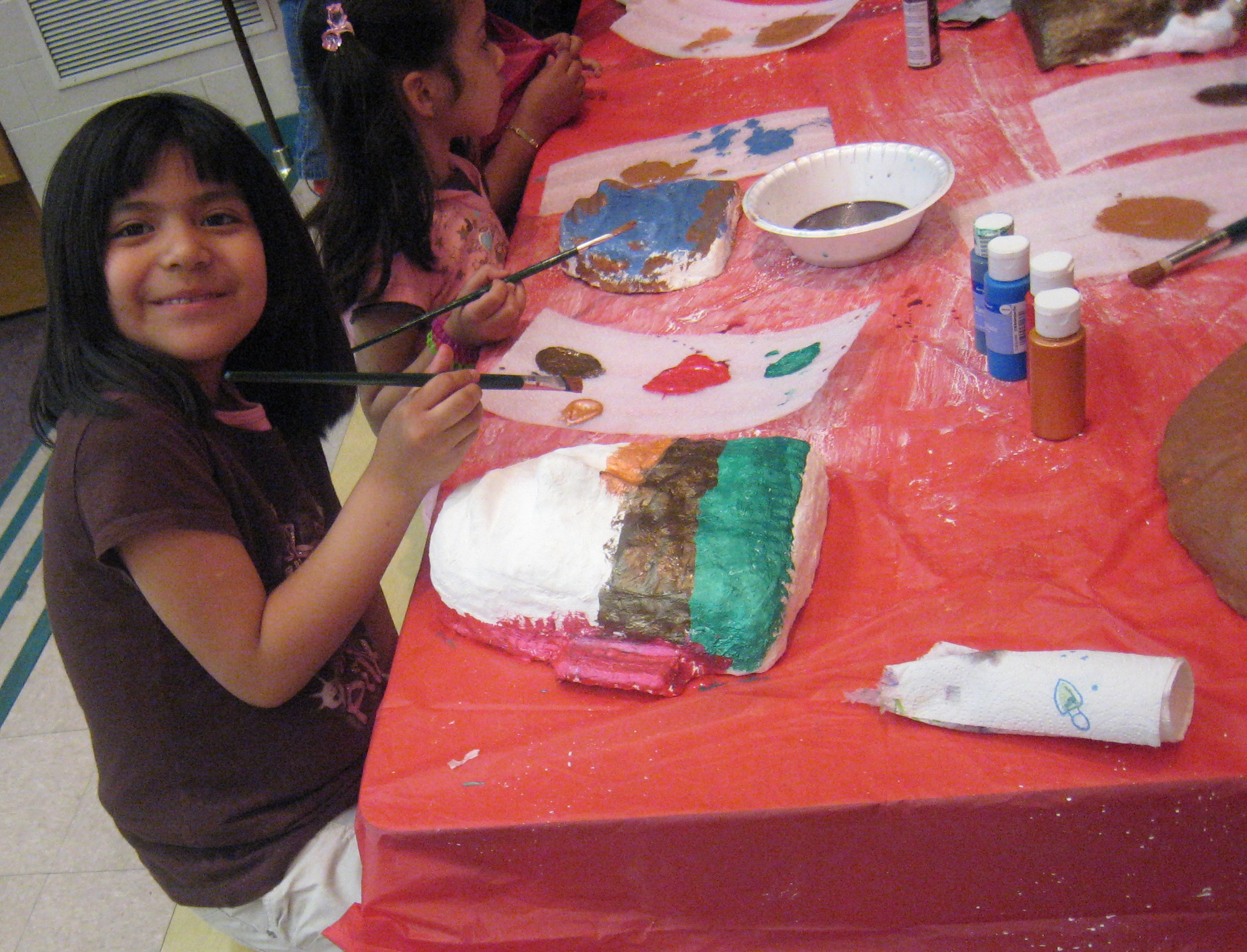 After-school Art Program Families