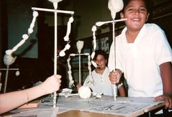 Puppets in-school residency