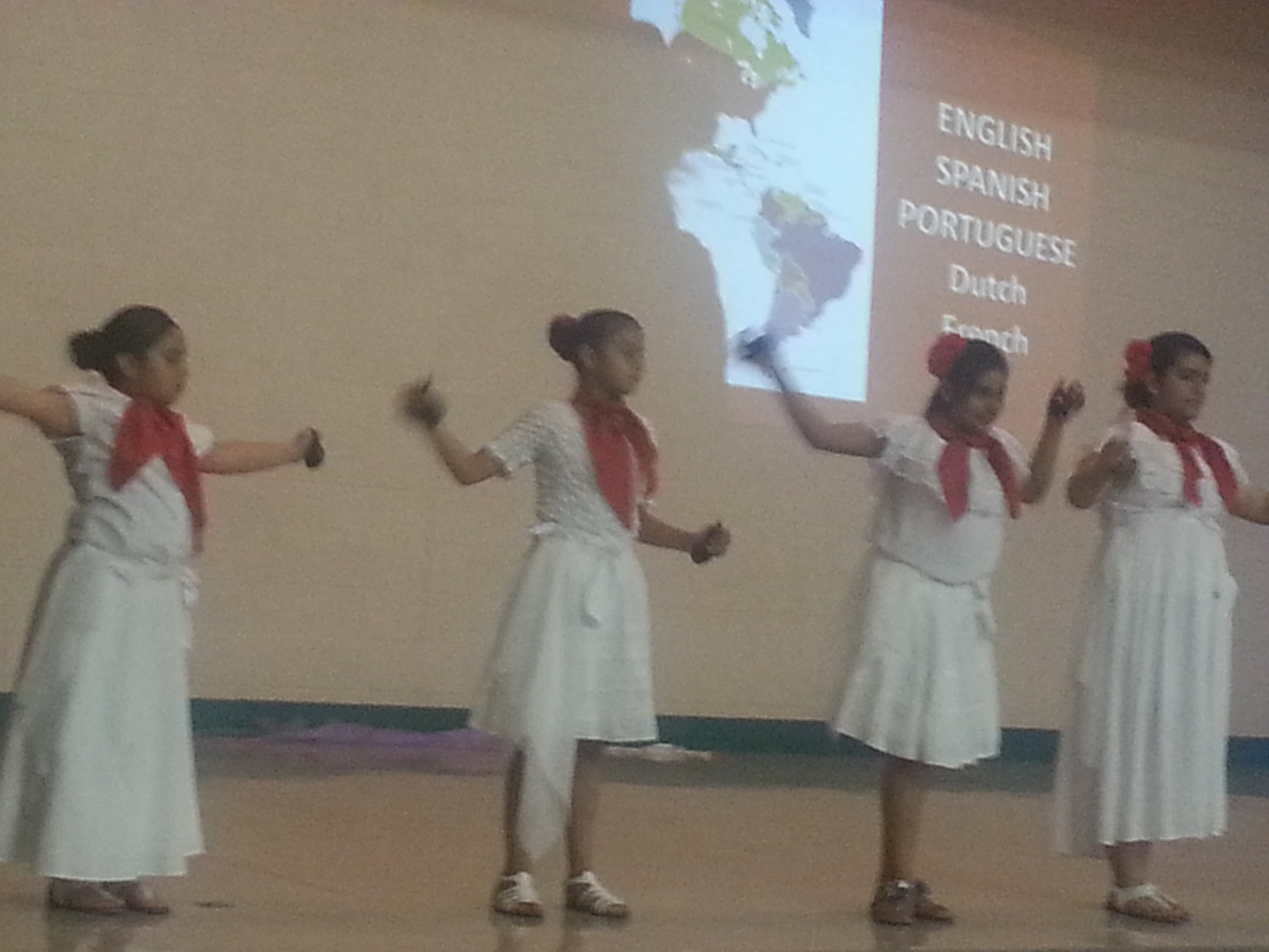 Cultural Dances After-school program