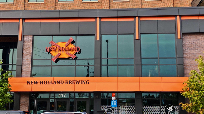 Grand Rapids Brewery Series: New Holland Brewing Co. - The Knickerbocker