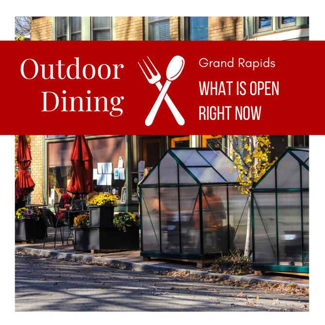 Outdoor Dining, Grand Rapids
