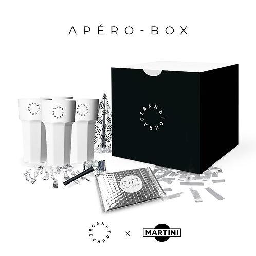 "Apero Box ""GREY GOOSE"" - Gandtourage x Martini"