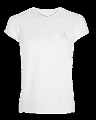 Amigo T-shirt Vrouw - Groen hart
