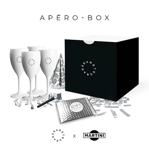 "Apero Box ""BELLINI"" - Gandtourage x Martini"