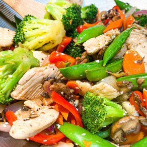 Soy-Ginger Chicken Stir Fry