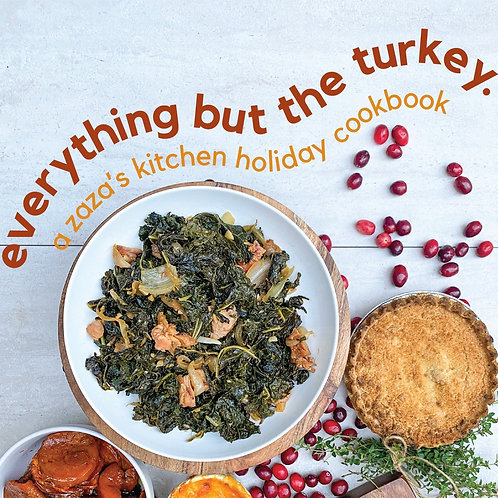 Everything But The Turkey- Digital Cookbook