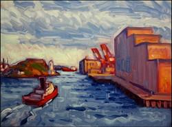 harbour exit