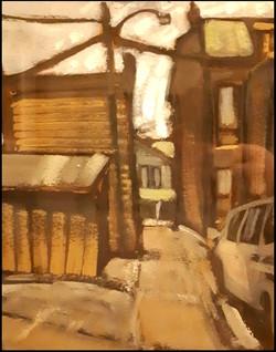 alleyway near dufferin