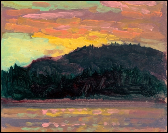 sunset at prince rupert