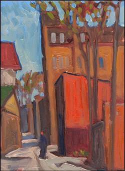 alleyway behind queen street