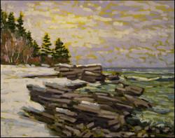 winter at providence bay