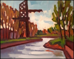 coal crane lachine canal