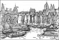 amsterdam sketch #2