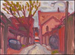 alleyway south of dundas