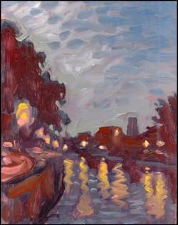 canal lachine nocturne