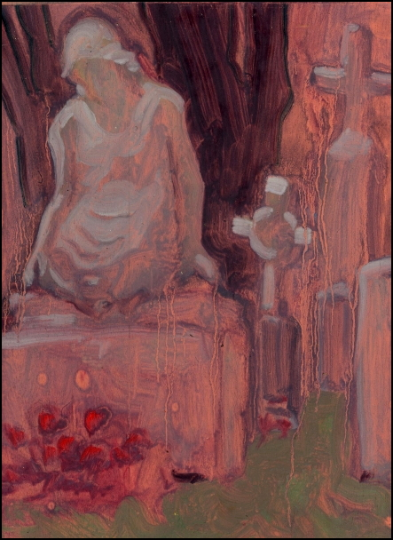 painting died again