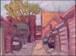 alleyway near shaw