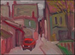 alleyway near brock ave