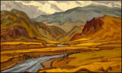 thompson valley, diptych